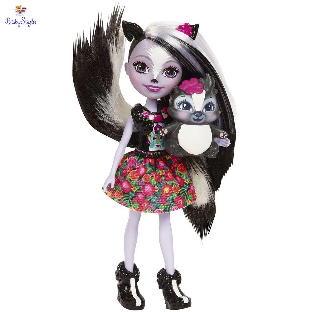 Кукла Enchantimals Сейдж Скунс с питомцем