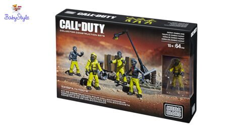 Конструктор Mega Bloks Call of Duty Hazmat Zombies Mob