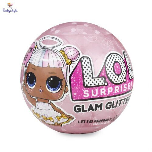 Кукла-сюрприз в шаре LOL Surprise Glam Glitter Series