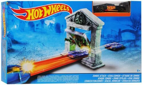Трек Атака зомби Hot Wheels DJF03