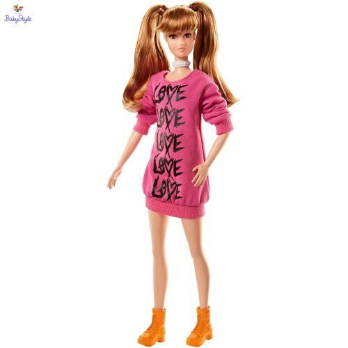 Кукла Barbie Высокая Wear Your Heart Tall Fashionistas FJF44