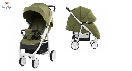 Коляска детская CARRELLO Echo CRL-8508 Olive Green